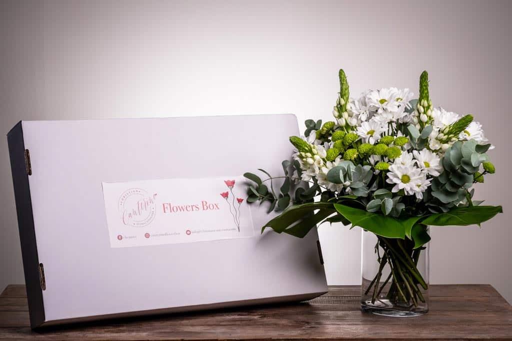Flowers Box Bianconiglio